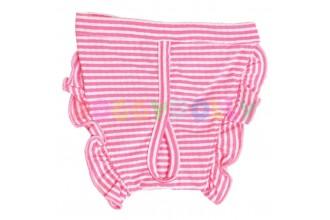 Kalhotky Doggydolly růžový proužek XXS