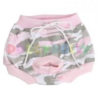 Kalhotky Doggydolly růžový maskáč XXS
