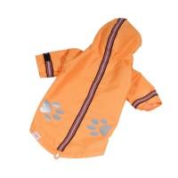 Bunda lehká šusťáková reflex - oranžová