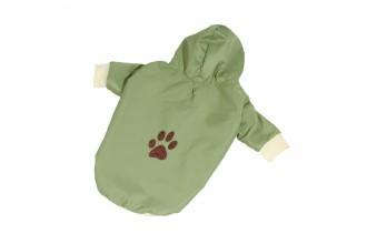 Bunda podšitá bavlnou - zelená (doprodej skladových zásob) XS