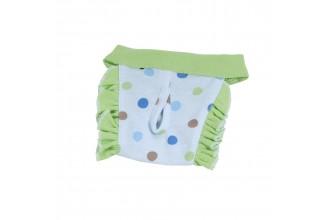 Hárací kalhotky Dotty - modrá/zelená (doprodej skladových zásob)