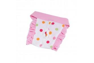 Hárací kalhotky Dotty - světle růžová (doprodej skladových zásob) XL