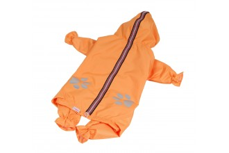 Kombinéza lehká šusťáková reflex - oranžová (doprodej skladových zásob)