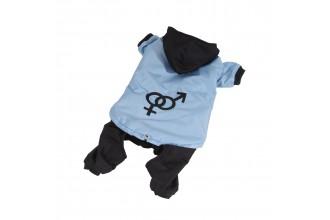 Kombinéza odepínatelné nohavice - modrá