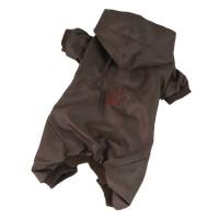 Kombinéza podšitá bavlnou - hnědá (doprodej skladových zásob) XXL