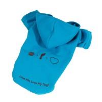 Mikina Love - modrá (doprodej skladových zásob)