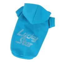 Mikina Lucky Star - modrá