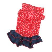Šaty Amor - červená