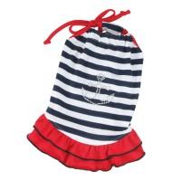 Šaty námořnické - modrý proužek