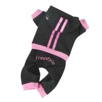 Teplákovka Freestyle - černá/růžová