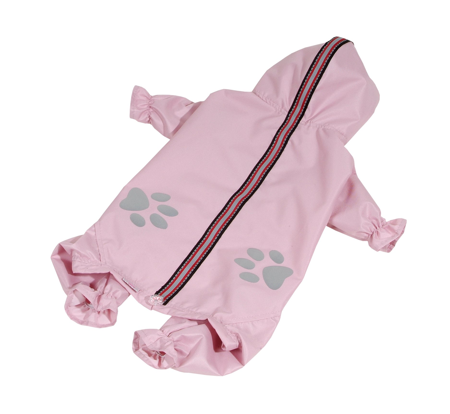 Kombinéza lehká šusťáková reflex - světle růžová (doprodej skladových zásob) XL