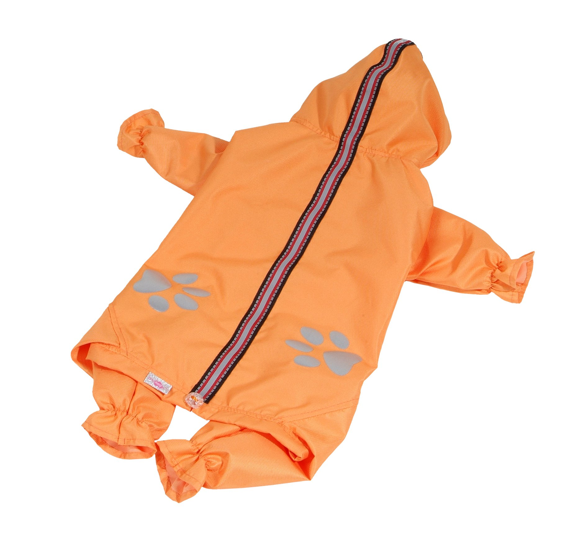 Kombinéza lehká šusťáková reflex - oranžová (doprodej skladových zásob) XL